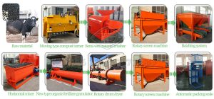 High efficient windrow compost turner